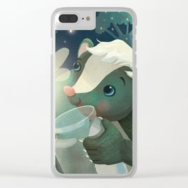 Skunks and Fireflies Clear iPhone Case