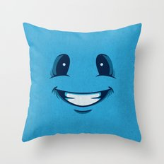 Happy Happy Throw Pillow