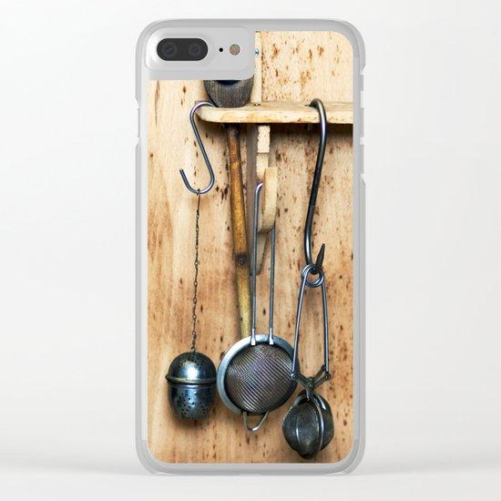 KITCHEN EQUIPMENT Clear iPhone Case