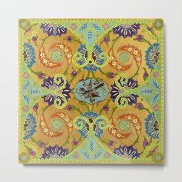 World Quilt - Panel #1 Metal Print