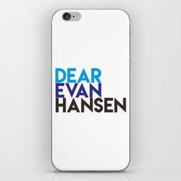 Dear Evan Hansen iPhone Skin