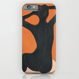 Abstract Nude I iPhone Case
