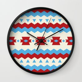 RIP Pattern Wall Clock