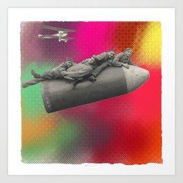 bombe humaine Art Print