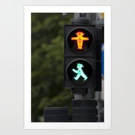 Berlin Stop and Go Art Print
