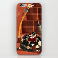 vikings iPhone & iPod Skins featuring :::Drunk Vikings::: by Ilias Sounas