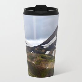 Snowy Mountains Travel Mug