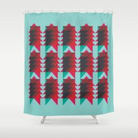 android Shower Curtains featuring Ziggy by NOT MY TYPE