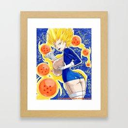 Melnetta with DragonBallz Framed Art Print