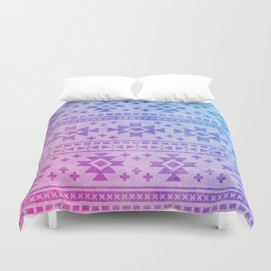 Aztec Pattern 04 Duvet Cover