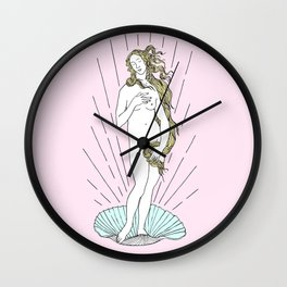 Venus pop Wall Clock