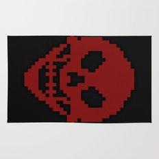 Pixel Skull Rug