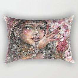 Goddess Lakshmi Rectangular Pillow
