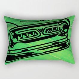 Green Pickup Rectangular Pillow