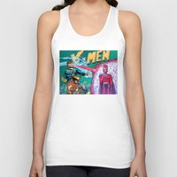 x men Tank Tops featuring X-Men! by thechrishaley