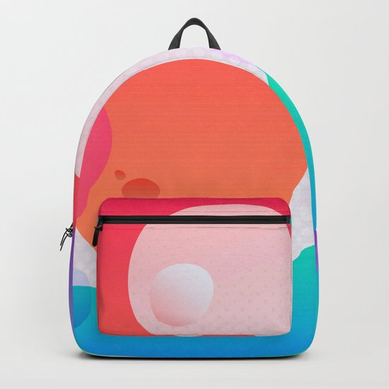 Abstract Waves Backpack