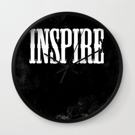 Inspire - a Chalkboard Message Wall Clock