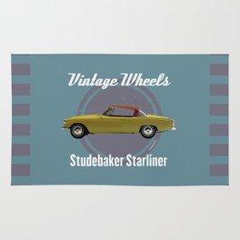 Vintage Wheels - Studebaker Starliner Rug