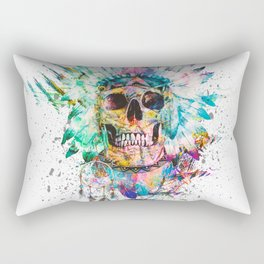 SKULL - WILD SPRIT Rectangular Pillow