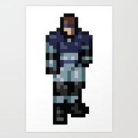 metal gear Art Prints featuring Metal Gear by Elegant As Phoque
