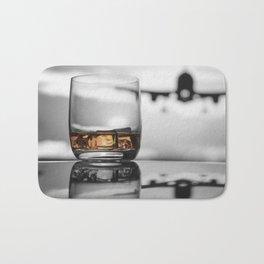 Airport on Ice Bath Mat