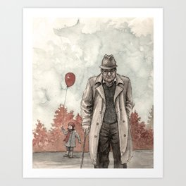 Grandfather Art Print