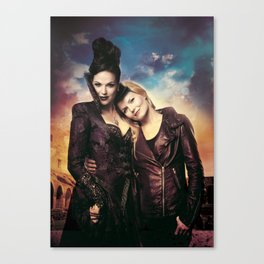 SwanQueen Love Canvas Print