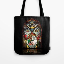 The Grinning Man Window Tote Bag