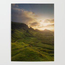Mesmerized By the Quiraing VI Poster