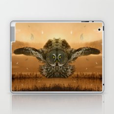 The greatest great gray of them all Laptop & iPad Skin