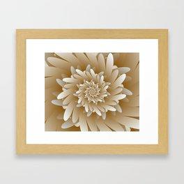 Digital Flower 3D Art Framed Art Print