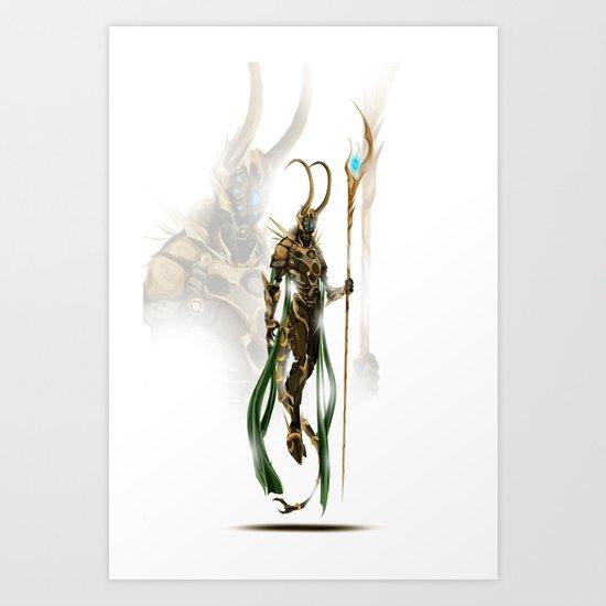 Auto-Avenger Lo Art Print