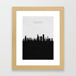 City Skylines: Chicago Framed Art Print