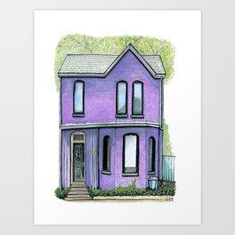 618 Gerrard Street, Toronto Art Print