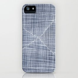 Ink Weaves: Sapphire iPhone Case