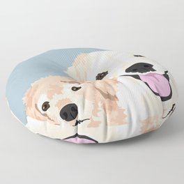 Carmen and Shelby Floor Pillow