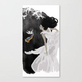 Goodbye summer Canvas Print