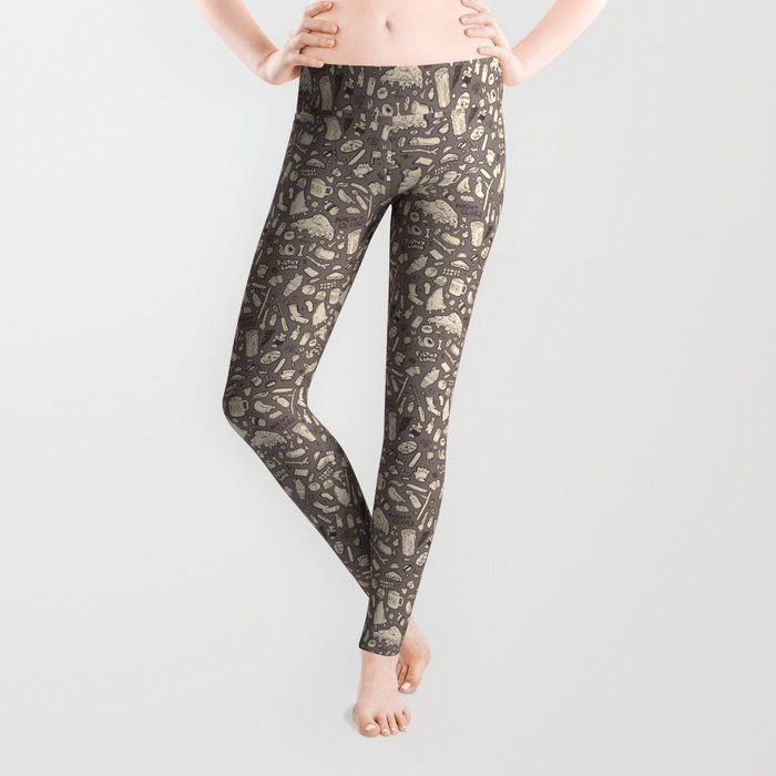 Filthy Lunch Dance Party Leggings