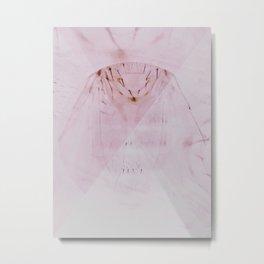 Stubbled Metal Print