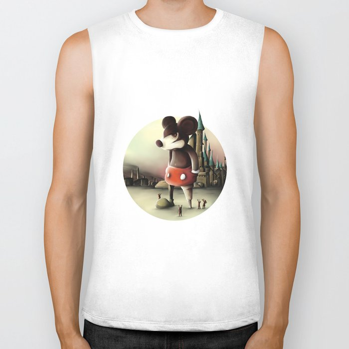 Mickey's Kingdom Biker Tank
