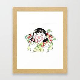 Amélie ama le piccole cose Framed Art Print