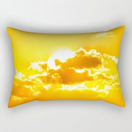 Fireball Rectangular Pillow