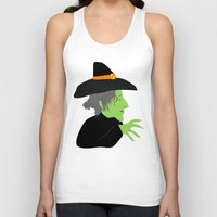 witch Tank Tops featuring Witch by Jessica Slater Design & Illustration
