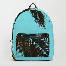 Palm Tree Blue Sky Backpack