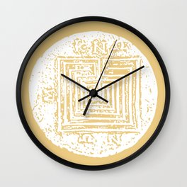 The Labyrinth Wall Clock