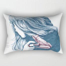 FlüsterFrosch Rectangular Pillow