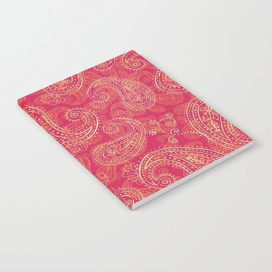 Crazy Paisley Notebook