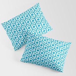 Modern Hive Geometric Repeat Pattern Pillow Sham