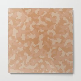 Butterum Camouflage Metal Print