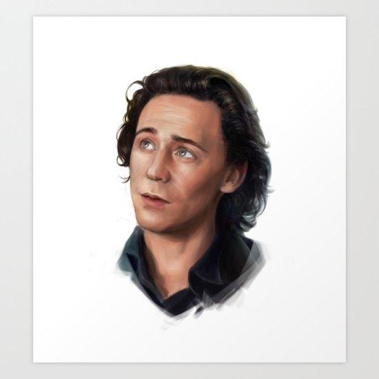 Tom - Loki Art Print